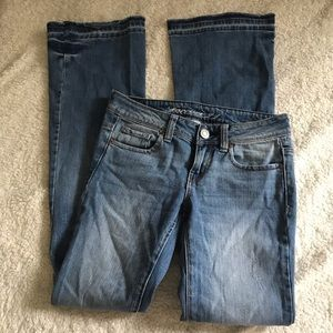 F21 bootcut flare jeans